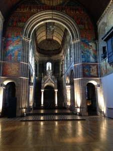 Edinburg kyrka insida